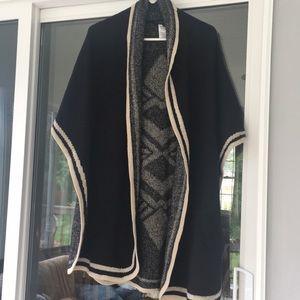 BCBGMaxAzria Poncho Sweater